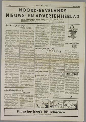 Noord-Bevelands Nieuws- en advertentieblad 1966-05-07