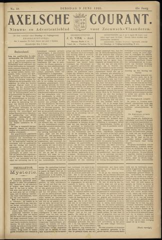 Axelsche Courant 1925-06-09