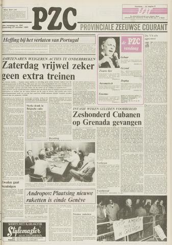 Provinciale Zeeuwse Courant 1983-10-27