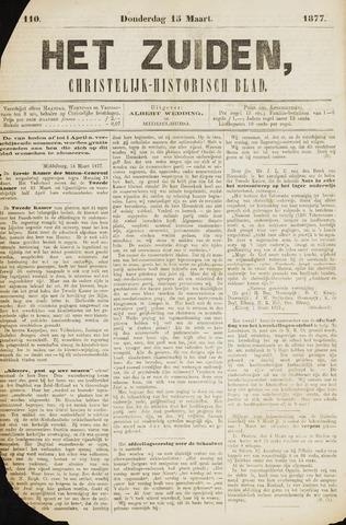 Het Zuiden, Christelijk-historisch blad 1877-03-15