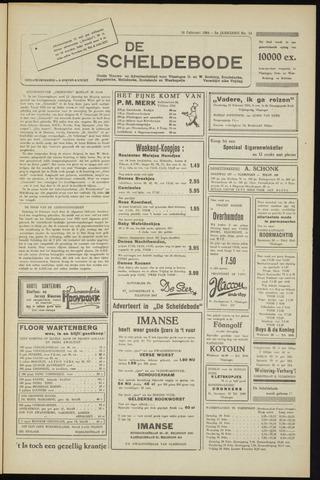 Scheldebode 1954-02-19