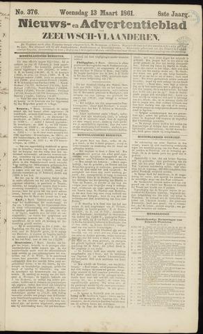 Ter Neuzensche Courant. Algemeen Nieuws- en Advertentieblad voor Zeeuwsch-Vlaanderen / Neuzensche Courant ... (idem) / (Algemeen) nieuws en advertentieblad voor Zeeuwsch-Vlaanderen 1861-03-13