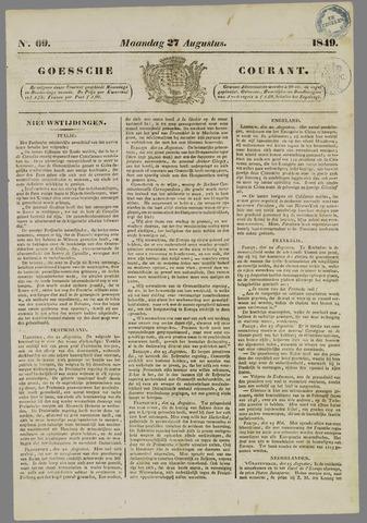 Goessche Courant 1849-08-27
