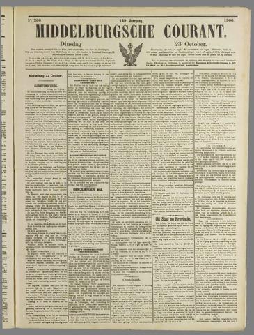 Middelburgsche Courant 1906-10-23