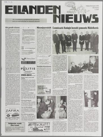 Eilanden-nieuws. Christelijk streekblad op gereformeerde grondslag 2000-12-29