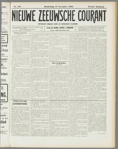 Nieuwe Zeeuwsche Courant 1906-11-22