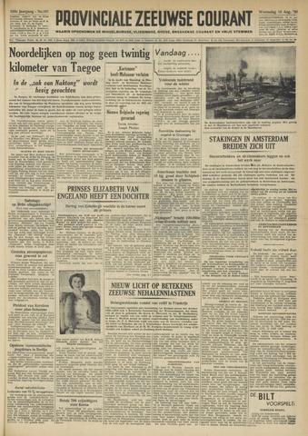 Provinciale Zeeuwse Courant 1950-08-16