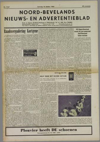 Noord-Bevelands Nieuws- en advertentieblad 1965-10-16
