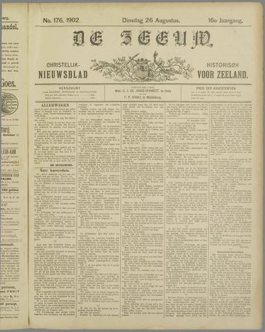 De Zeeuw. Christelijk-historisch nieuwsblad voor Zeeland 1902-08-26
