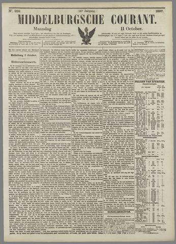 Middelburgsche Courant 1897-10-11