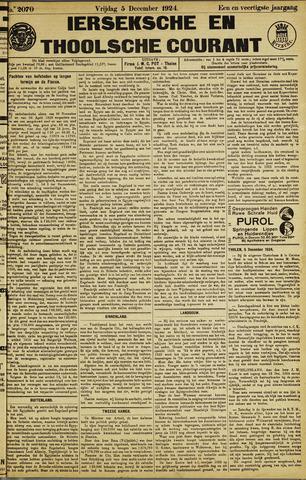 Ierseksche en Thoolsche Courant 1924-12-05