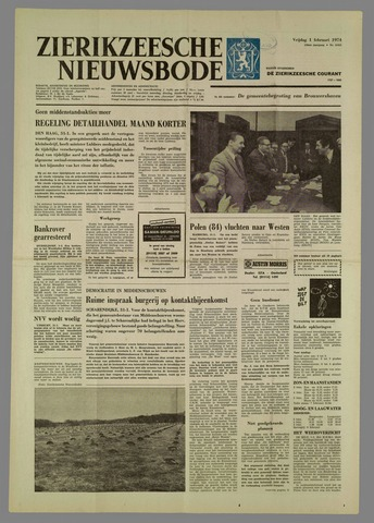 Zierikzeesche Nieuwsbode 1974-02-01