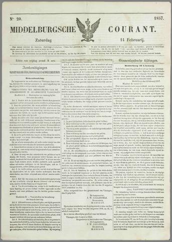 Middelburgsche Courant 1857-02-14