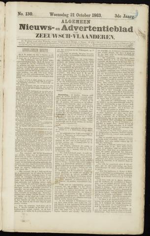 Ter Neuzensche Courant. Algemeen Nieuws- en Advertentieblad voor Zeeuwsch-Vlaanderen / Neuzensche Courant ... (idem) / (Algemeen) nieuws en advertentieblad voor Zeeuwsch-Vlaanderen 1863-10-21