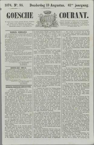 Goessche Courant 1874-08-13