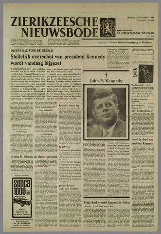 Zierikzeesche Nieuwsbode 1963-11-25