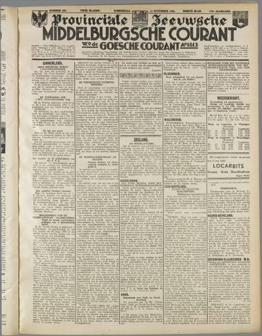 Middelburgsche Courant 1936-11-12