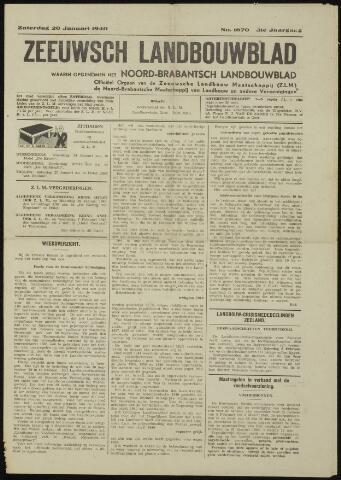 Zeeuwsch landbouwblad ... ZLM land- en tuinbouwblad 1940-01-20