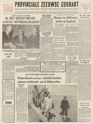 Provinciale Zeeuwse Courant 1965-10-23
