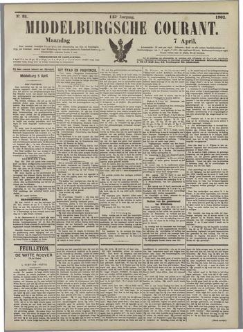Middelburgsche Courant 1902-04-07