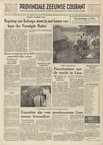 Provinciale Zeeuwse Courant 1960-08-10