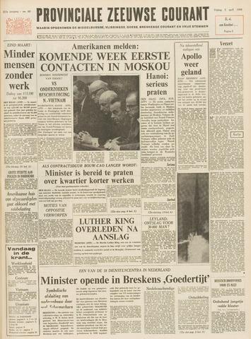Provinciale Zeeuwse Courant 1968-04-05