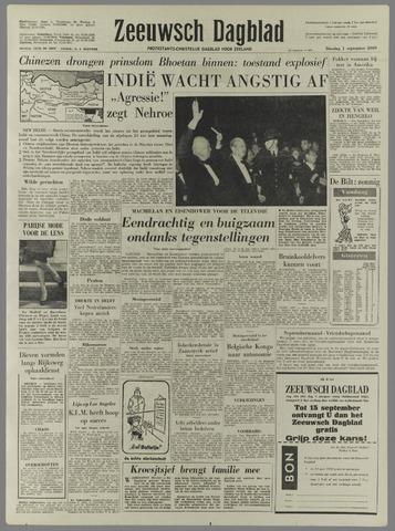 Zeeuwsch Dagblad 1959-09-01