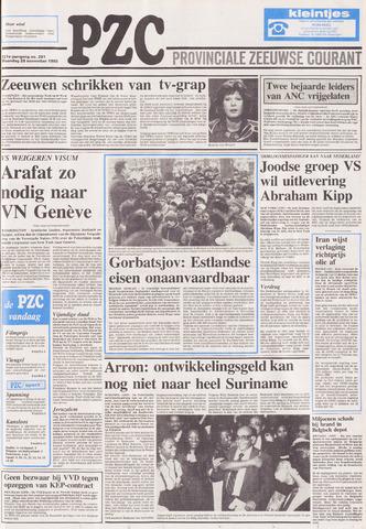 Provinciale Zeeuwse Courant 1988-11-28