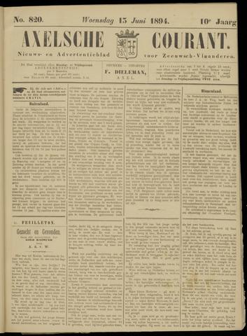 Axelsche Courant 1894-06-13