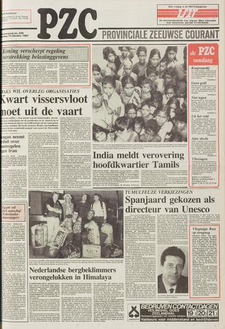Provinciale Zeeuwse Courant 1987-10-19