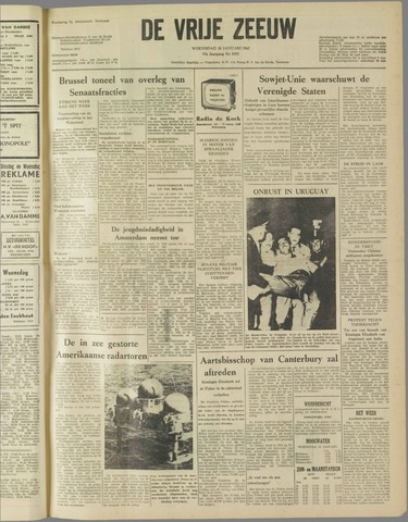 de Vrije Zeeuw 1961-01-18