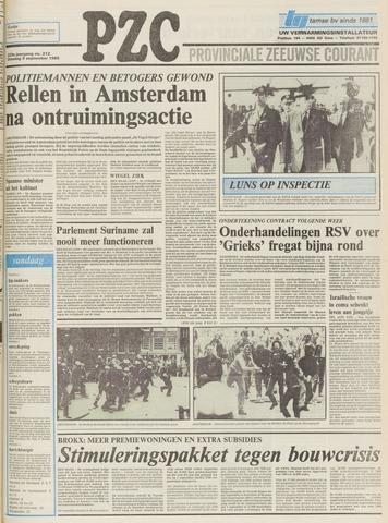 Provinciale Zeeuwse Courant 1980-09-09