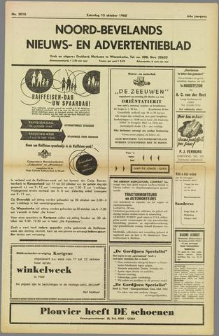 Noord-Bevelands Nieuws- en advertentieblad 1960-10-15