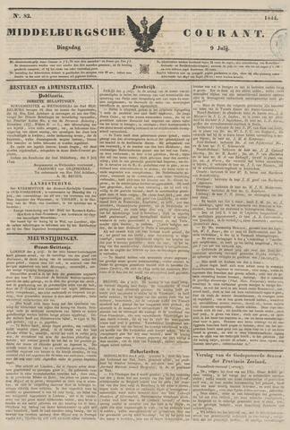 Middelburgsche Courant 1844-07-09