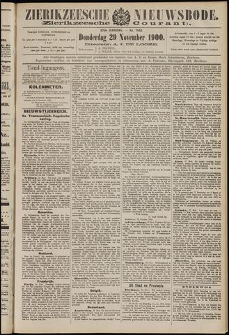 Zierikzeesche Nieuwsbode 1900-11-29