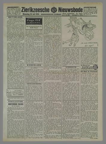 Zierikzeesche Nieuwsbode 1934-07-23