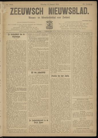 Ter Neuzensch Volksblad. Vrijzinnig nieuws- en advertentieblad voor Zeeuwsch- Vlaanderen / Zeeuwsch Nieuwsblad. Nieuws- en advertentieblad voor Zeeland 1918-01-15