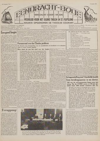Eendrachtbode (1945-heden)/Mededeelingenblad voor het eiland Tholen (1944/45) 1958