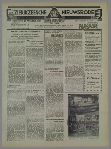 Zierikzeesche Nieuwsbode 1941-08-29