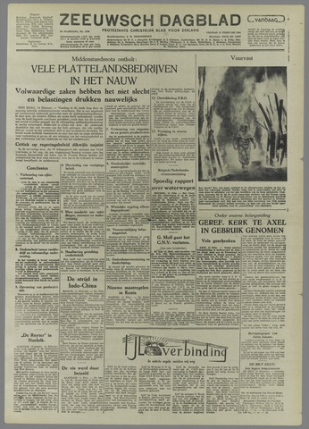 Zeeuwsch Dagblad 1954-02-12