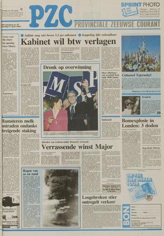 Provinciale Zeeuwse Courant 1992-04-11