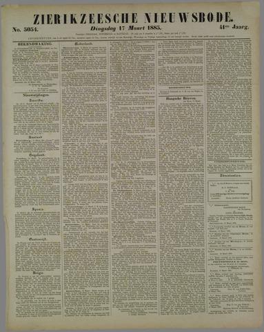 Zierikzeesche Nieuwsbode 1885-03-17