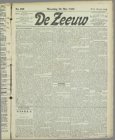 De Zeeuw. Christelijk-historisch nieuwsblad voor Zeeland 1920-05-10