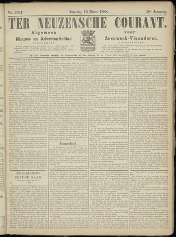 Ter Neuzensche Courant. Algemeen Nieuws- en Advertentieblad voor Zeeuwsch-Vlaanderen / Neuzensche Courant ... (idem) / (Algemeen) nieuws en advertentieblad voor Zeeuwsch-Vlaanderen 1888-03-10