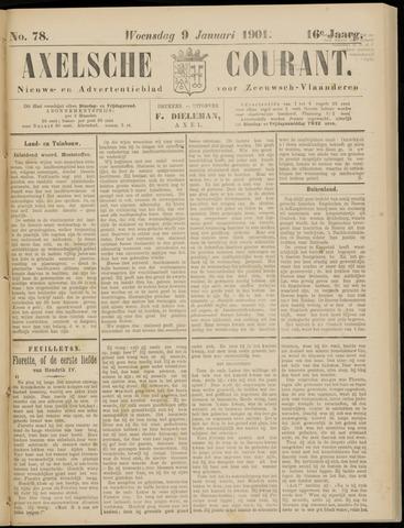Axelsche Courant 1901-01-09
