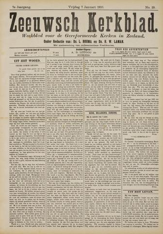 Zeeuwsche kerkbode, weekblad gewijd aan de belangen der gereformeerde kerken/ Zeeuwsch kerkblad 1910