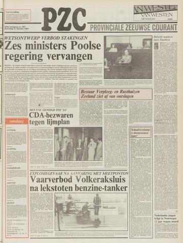 Provinciale Zeeuwse Courant 1981-10-31