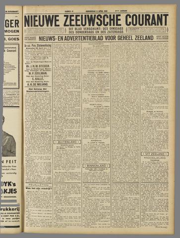 Nieuwe Zeeuwsche Courant 1931-04-09