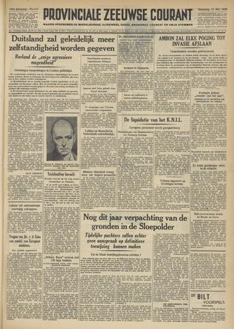 Provinciale Zeeuwse Courant 1950-05-15