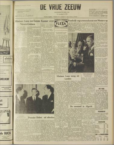 de Vrije Zeeuw 1962-04-12